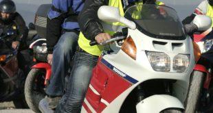 Motorrad walkie talkie